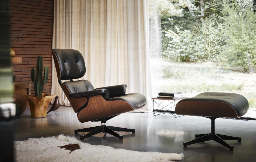Beim Kauf eines Lounge Chair von Vitra – Occasional Table geschenkt – bei hecht einrichtungen