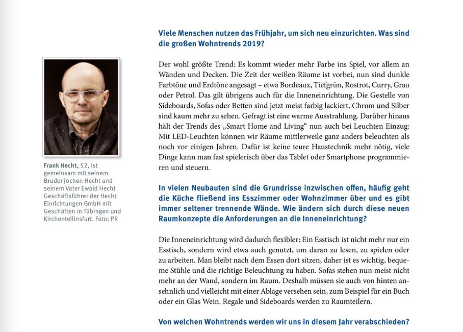 Unser Vorwort im aktuellen IHK Magazin Wirtschaft Neckar-Alb im März 2019