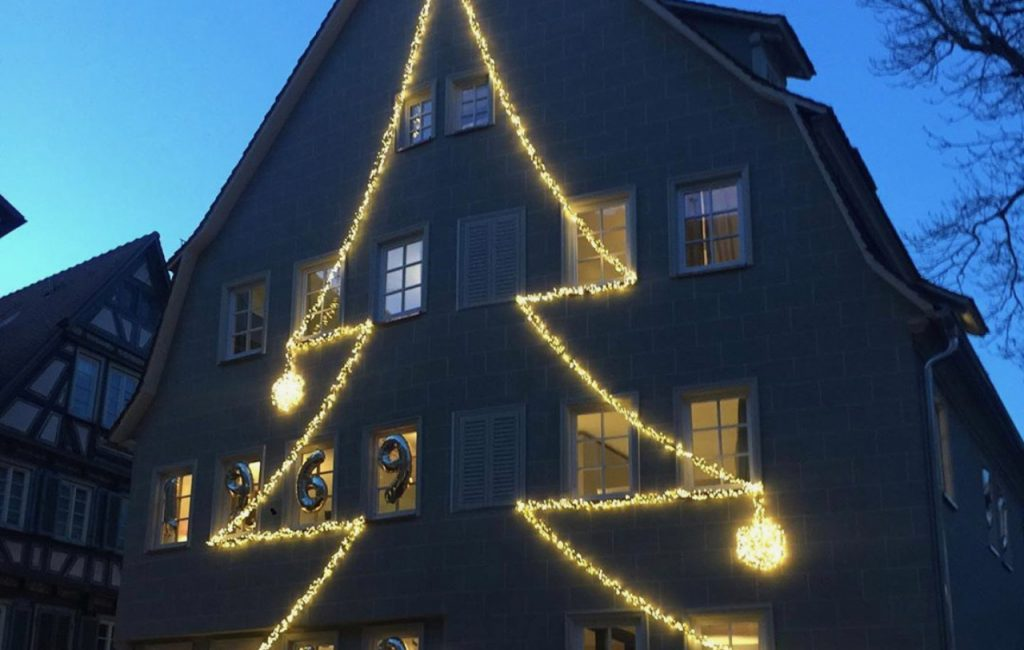Weihnachtsstimmung bei hecht