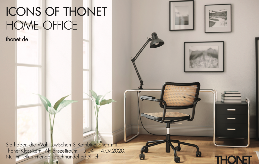 Icons of Thonet – homeoffice