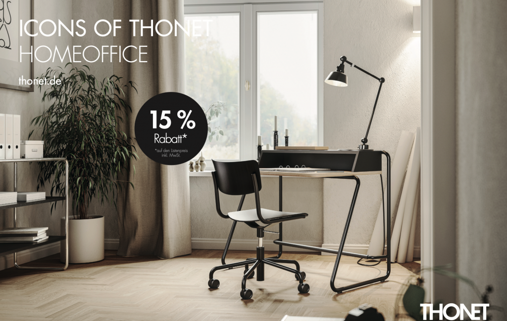 Icons of Thonet Home Office