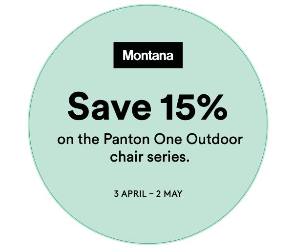 Panton ONE Aktion – Montana